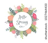 hand lettering typographic... | Shutterstock .eps vector #1027464433