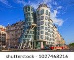 prague  czech republic   may... | Shutterstock . vector #1027468216
