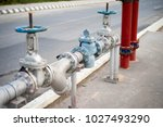 water tap  pipe close up | Shutterstock . vector #1027493290