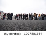 bucharest  romania   february... | Shutterstock . vector #1027501954