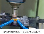 the cnc milling machine use... | Shutterstock . vector #1027502374