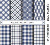 geometric vector grid pattern...   Shutterstock .eps vector #1027503568