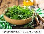 arugula leaves  rucola   Shutterstock . vector #1027507216