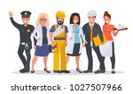 set of people of different... | Shutterstock .eps vector #1027507966