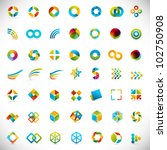 49 design elements   creative... | Shutterstock .eps vector #102750908
