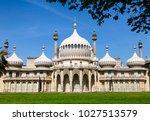 the royal pavilion  brighton... | Shutterstock . vector #1027513579
