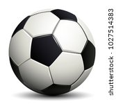 soccer ball  football   stock... | Shutterstock .eps vector #1027514383