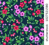 seamless floral pattern for... | Shutterstock .eps vector #1027521580