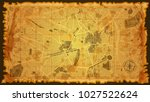 design vintage map | Shutterstock .eps vector #1027522624
