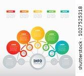 vector info graphic of... | Shutterstock .eps vector #1027525318