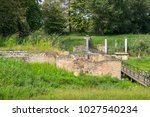 temple of goddess at dion...   Shutterstock . vector #1027540234