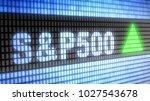 the standard   poor's 500 is an ...   Shutterstock . vector #1027543678