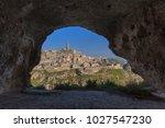matera village. unesco world... | Shutterstock . vector #1027547230