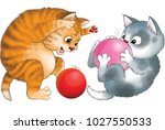 illustration. cartoon. two... | Shutterstock . vector #1027550533