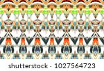 colorful horizontal... | Shutterstock . vector #1027564723