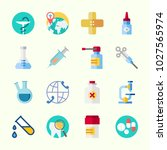 icons about medical with... | Shutterstock .eps vector #1027565974