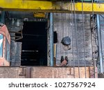 abounded factory metal industry | Shutterstock . vector #1027567924