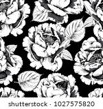 floral seamless pattern with... | Shutterstock .eps vector #1027575820