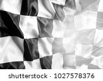 checkered black and white... | Shutterstock . vector #1027578376