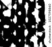 grunge halftone black and white ... | Shutterstock . vector #1027598860