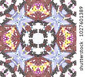 mosaic colorful pattern for... | Shutterstock . vector #1027601389
