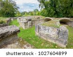 Small photo of Ancient Roman Theater at the Archaeological Site of Dion. Pieria, Macedonia, Greece
