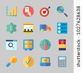 icons about business with... | Shutterstock .eps vector #1027628638