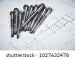 engineering and metalworking... | Shutterstock . vector #1027632478