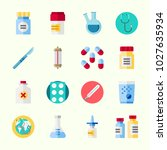 icons about medical with... | Shutterstock .eps vector #1027635934