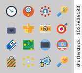 icons about commerce with... | Shutterstock .eps vector #1027636183