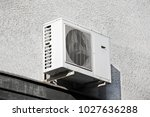 hvac steel air conditioning and ... | Shutterstock . vector #1027636288