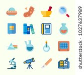 icons about science with...   Shutterstock .eps vector #1027637989