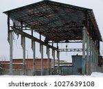 old abandoned building | Shutterstock . vector #1027639108