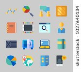 icons about business with user  ... | Shutterstock .eps vector #1027640134