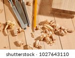 diy concept. woodworking and...   Shutterstock . vector #1027643110