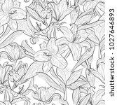 beautiful  seamless pattern... | Shutterstock .eps vector #1027646893