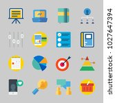 icons about business with... | Shutterstock .eps vector #1027647394