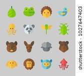icons about animals with... | Shutterstock .eps vector #1027647403