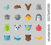 icons about animals with sheep  ... | Shutterstock .eps vector #1027649200