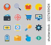 icons about commerce with... | Shutterstock .eps vector #1027650424
