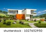 3d rendering of modern cozy... | Shutterstock . vector #1027652950