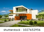3d rendering of modern cozy... | Shutterstock . vector #1027652956