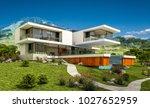 3d rendering of modern cozy... | Shutterstock . vector #1027652959