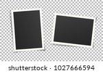 set of vintage photo frame... | Shutterstock .eps vector #1027666594