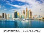 dubai  united arab emirates... | Shutterstock . vector #1027666960