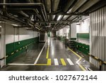 industrial interior of modern... | Shutterstock . vector #1027672144