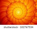 Fractal Fire Spiral