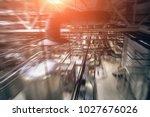 brewing production  workshop... | Shutterstock . vector #1027676026
