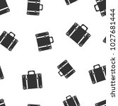 suitcase seamless pattern... | Shutterstock .eps vector #1027681444