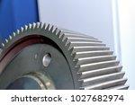 part of an industrial cogwheel  ... | Shutterstock . vector #1027682974